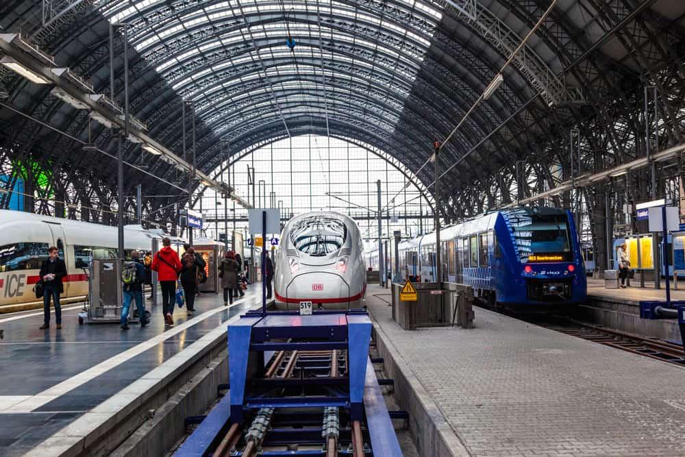 Germany Train Trip